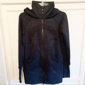 Lululemon | Black Zip-Up Hooded Jacket